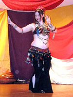 Frankie Puts the Belly in Bellydance