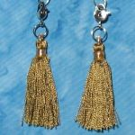 Clippy Bit Mini- Light Brown Tassel