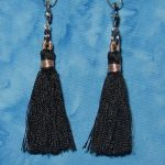 Clippy Bit Mini- Black Tassel